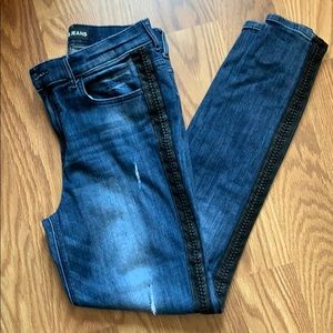 Express High Rise Ankle Skinny Jeans
